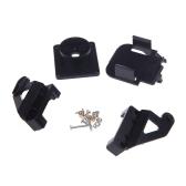 Plastic PT Kit Pan/Tilt Camera Platform Anti-Vibration Mount for FPV RC