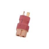5Pcs T Male Plug to XT60 Male Adapter for RC Helicopter Quadcopter LiPo Battery Plug Connector(LiPo Battery Plug Connector,T plug to XT60 Plug)