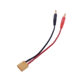 15cm XT60 to 4.0 Banana Plug Balance Charge Cable for RC Helicopter Quadcopter XT60 Lipo Battery Plug Charge(XT60 Charge Cable,Balance Discharge Cable,Lipo Battery Charge line)