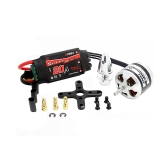 EMAX XA2212 820KV Brushless Motor w/Simonk 20A ESC and Prop Adapter for DJI F450 F550 RC Quadcopter Part(EMAX XA2212 820KV,820KV Brushless Motor,Simonk 20A ESC)