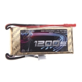 High Power YKS Lipo Battery 7.4V 1200mah 20C MAX 30C JST Plug for RC Airplane Helicopter Part (Lipo Battery ,7.4V 1200mah 20C,RC Battery)
