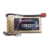 High Power YKS Lipo Battery 7.4V 1300mah 20C MAX 30C T Plug for RC Car Boat Airplane Helicopter Part (Lipo Battery,7.4V 1300mah 20C,RC  Lipo BatteryT Plug)