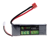 Oriainal Lion Power Lipo Battery 11.1V 1300Mah 25C MAX 40C T Plug for RC Car Airplane Helicopter Part (Lion Power Lipo Battery; 11.1V 1300Mah 25C;RC Lipo Battery T Plug)