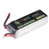 Oriainal Lion Power Lipo Battery 14.8V 5200Mah 30C MAX 45C T Plug for RC Car Airplane Helicopter DJI F550 S800 FPV Multirotor Part (Lion Power Lipo Battery ;14.8V 5200Mah 30C,DJI FPV Battery)