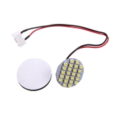 24 White LED Light RC FPV for DJI F450 F550 Quadcopter Multicopters Aircraft Night Light w/ Mucilage Glue (LED Night Light,Quadcopter Night Light,DJI Night Light)