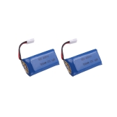 2Pcs Hubsan Part H107 Series Mini Quadcopter Lipo Battery 3.7V 500mAh for Mini Quadcopter Hubsan H107 H107L H107C H107D Battery (Hubsan H107 Series Lipo Battery)