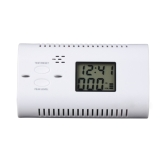 Battery-Operated CO Carbon Monoxide Detector Alarm Human Voice Warning Battery Powered Backlight Digital LCD Display