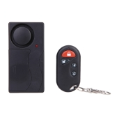 Home Security Wireless Remote Control Vibration Alarm for Door Window Detector 105dB