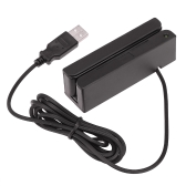 Portable USB Programmable Compatible Magnetic Card Reader Stripe Bidirectional Swipe