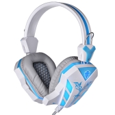 Cosonic CD-618 High-Quality Professional Gaming Headphone Earphones Headset with Microphone Noise Cancellation Glaring LED Light for Desktop Notebook Tablet PC