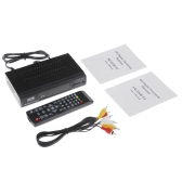 DVB-T2 Hot-sale High Definition HD Digital Video Broadcasting Terrestrial Receiver Set Top Box Compatible with MPEG-2 / MPEG-4 H.264 with Remote Controller for HDTV