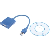 USB 3.0 to VGA Multi-display Adapter Converter External Video Graphic Card