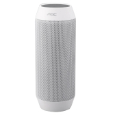 AEC Bluetooth Stereo Speaker Bass Subwoofer with MIC Support TF FM Line in Handsfree Call for iPhone iPad Samsung Smartphone Portable Rechargeable White
