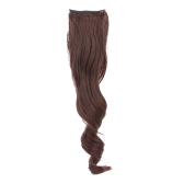 Ponytail Hairpieces Long Wavy High-temperature Wire Bundles Mawei Style Straps