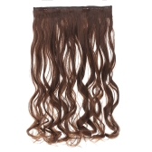 6Clips Long Big Wave Hair Thicken Fashion Popular Goddess Charming Curled Hair Extension