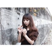 5Clips Long Big Wave Hair Thicken Fashion Popular Goddess Charming Curled Hair Extension