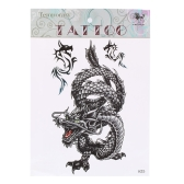 1Pcs Dragon Pattern Temporary Tattoo Stick