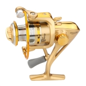 8BB Ball Bearings Left/Right Interchangeable Collapsible Handle Fishing Wheel Spinning Reel High Speed 5.1:1 ST2000A
