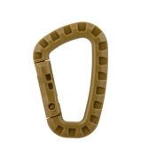 D Shape 200LB Mountaineering Buckle Snap Clip POM Plastic Climbing Carabiner Hanging Keychain Hook Outdoor Tool