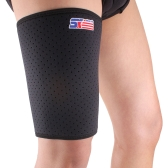 SX650 Breathable Sports Stretch Thigh Brace Compression Sleeve Support Protector Wrap Bandage Skin Protection
