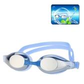 ファッション ユニセックス水スポーツウェア防曇 UV シールド保護防水アイウェア ゴーグル眼鏡スイミング耳栓をして