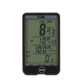 Wired Bike Bicycle Cycling Computer Odometer Speedometer Touch Button LCD Backlight Backlit Water-resistant Multifunction