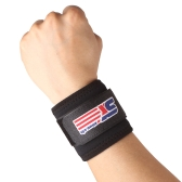 Adjustable Wrist Support Wrap Band Breathable Sports Elastic Stretchy Wrist Joint Brace