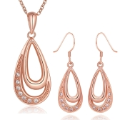 S398-A  Fashion Nickel and lead free mixed styles 18k gold plating jewelry set
