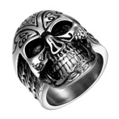 R060-8 Stylish wholesale various styles 316L stainless steel punk ring