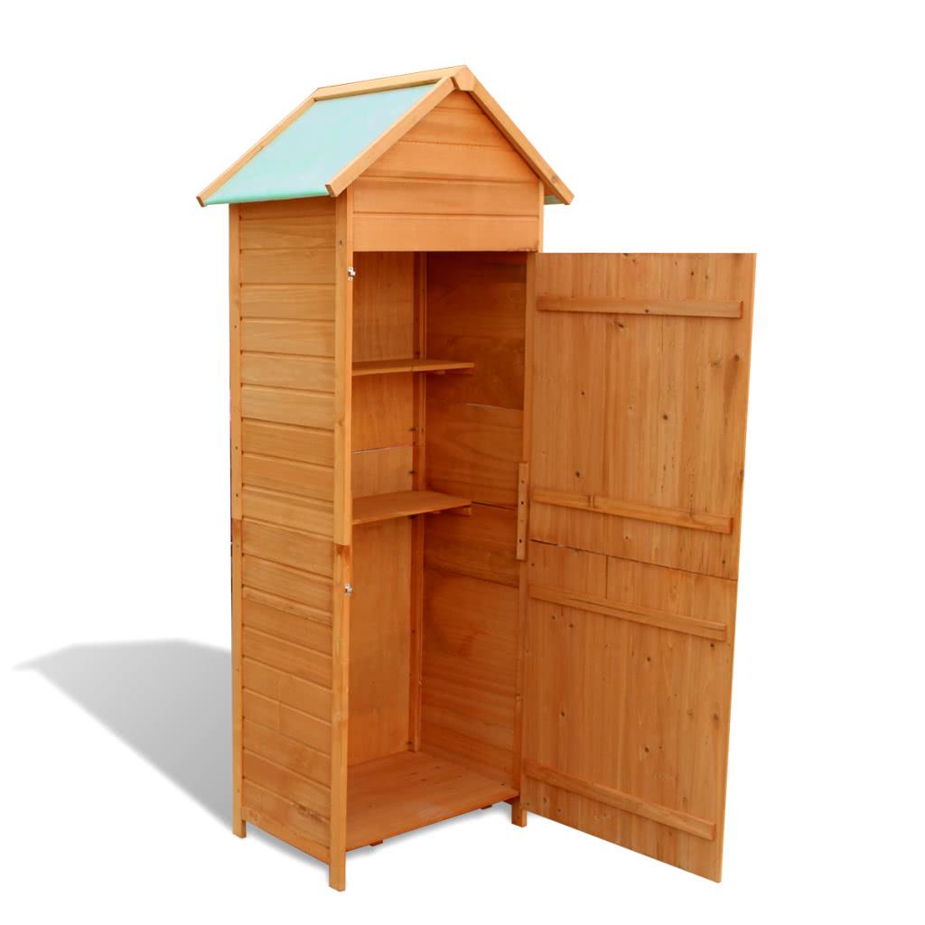S lo us jard n armario de madera resistente al - Armarios de madera para jardin ...