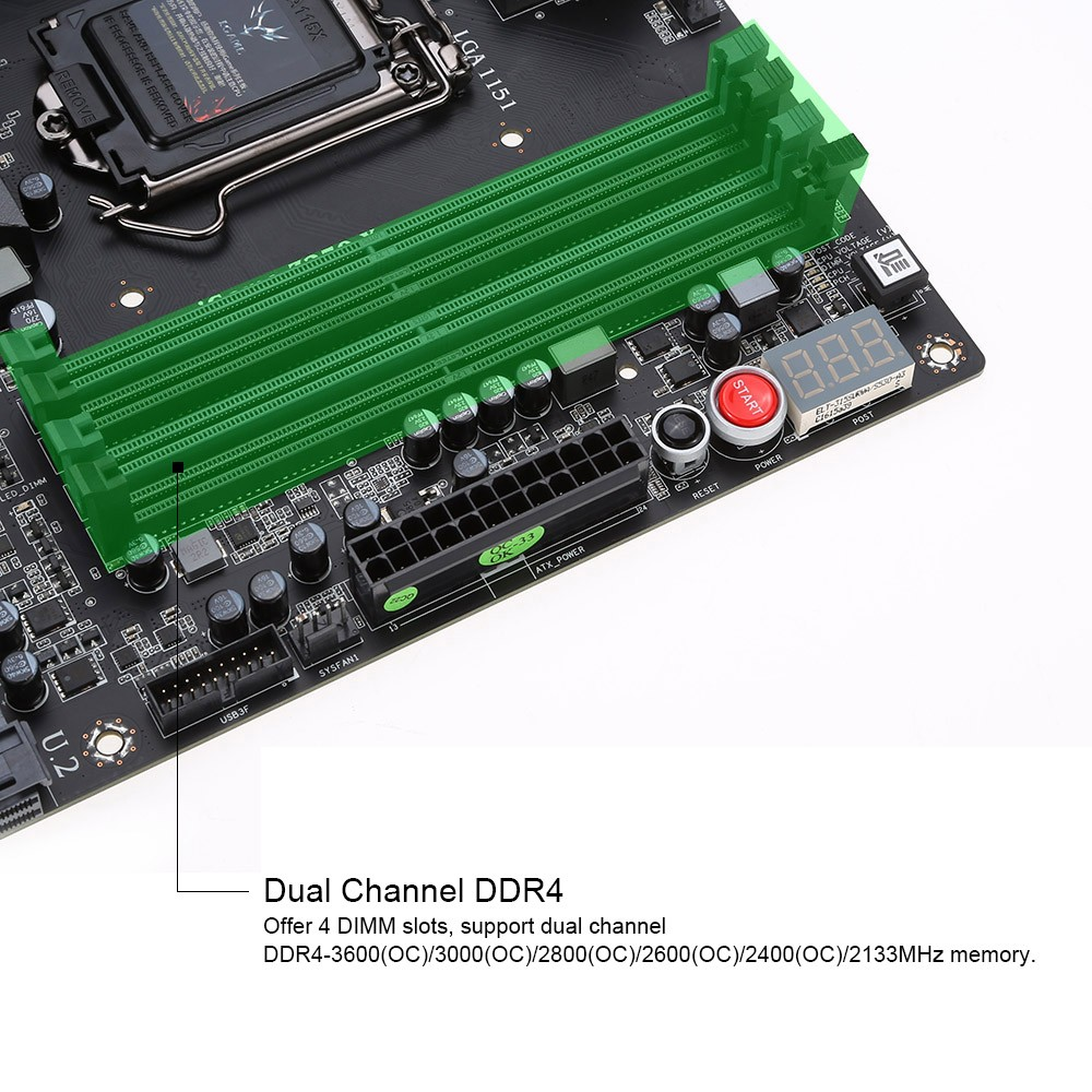 C4002 1 b494 1I9n colorful igame z270 extreme motherboard mainboard systemboard  at gsmportal.co