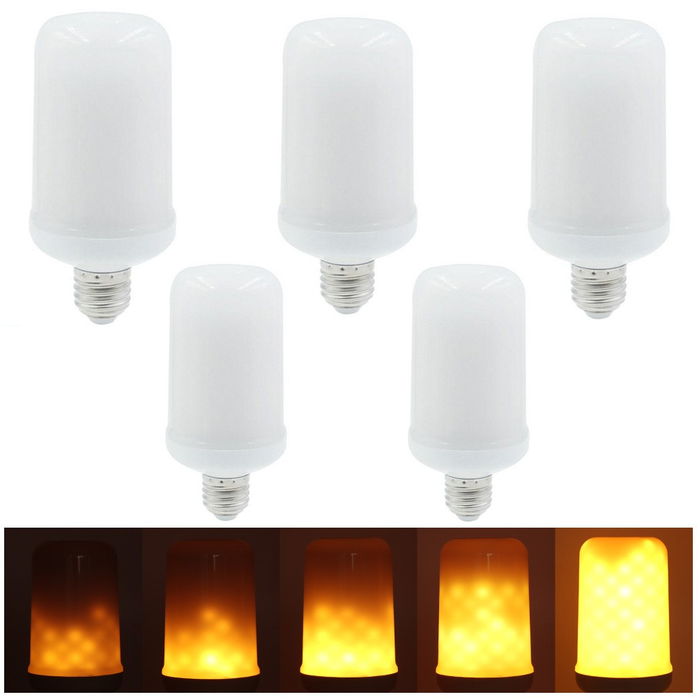 $9 OFF 5PCS SMD2835 LED Flame Light Bulbs,free shipping $35.99