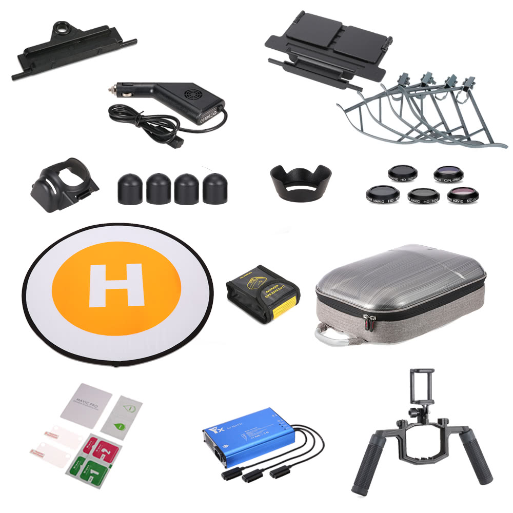 $15 OFF 14 in 1 Accessories RC Part Kit for DJI RC Quadcopter,free shipping $164.99