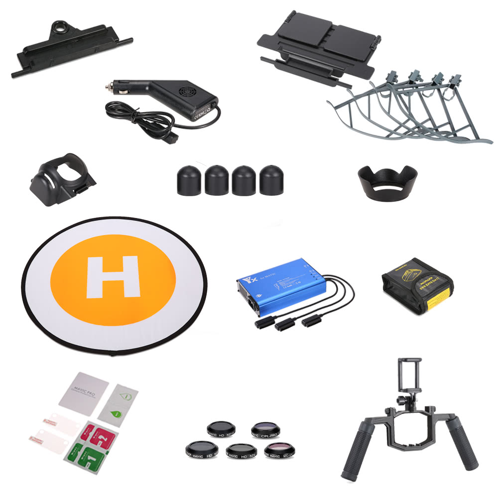$10 OFF 13 in 1 Accessories RC Part Kit for DJI RC Quadcopter,free shipping $129.99