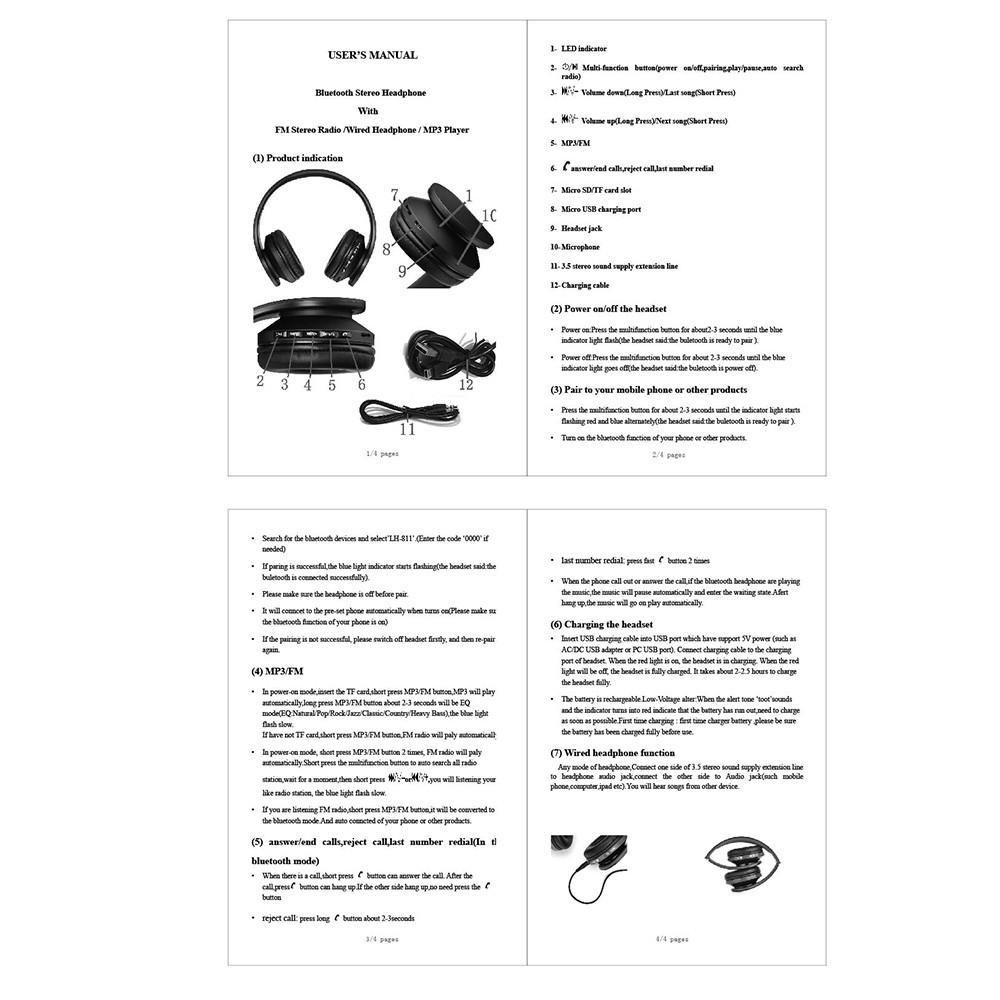 andoer lh 811 manual pdf