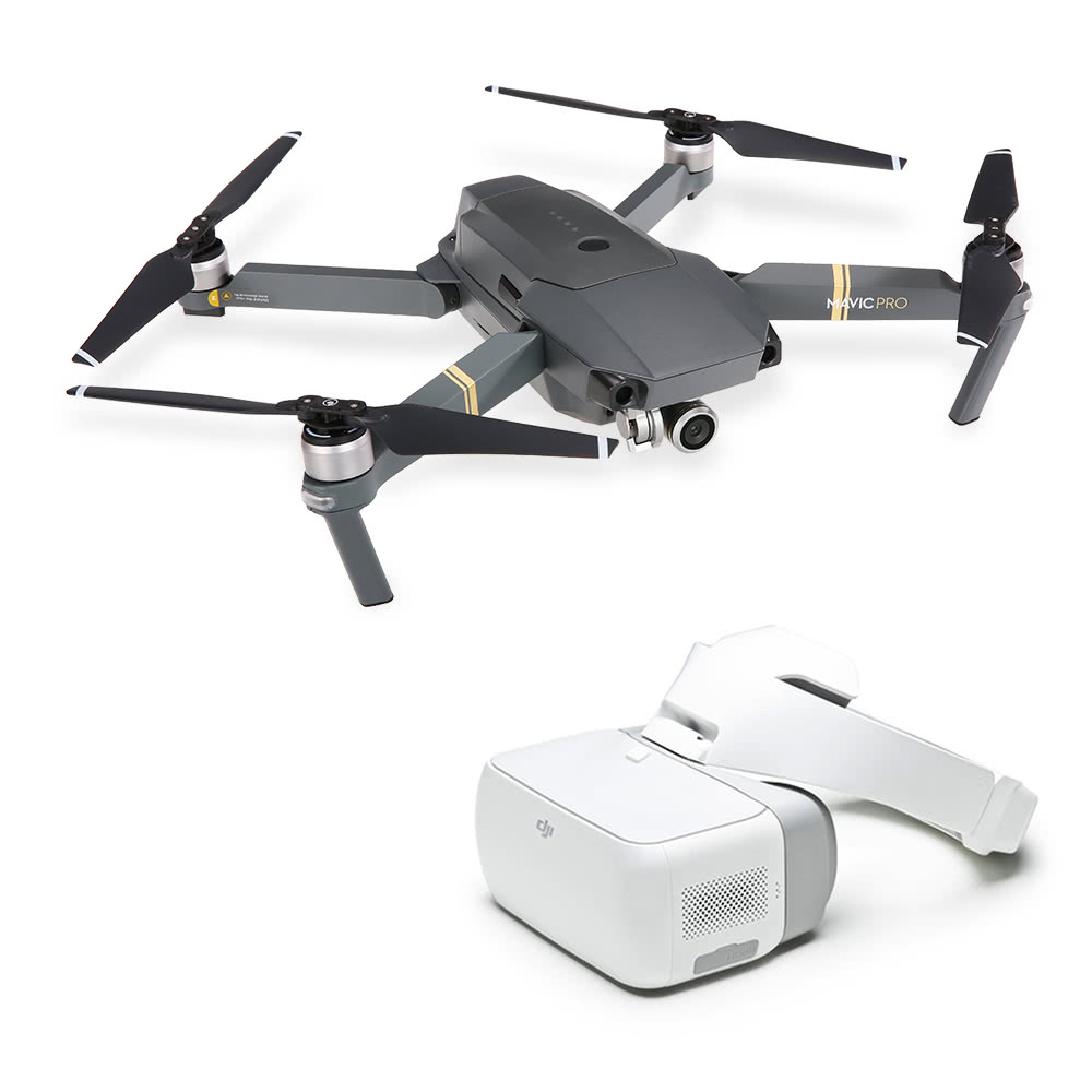 DJI Mavic Pro RC Quadcopter with DJI Goggles