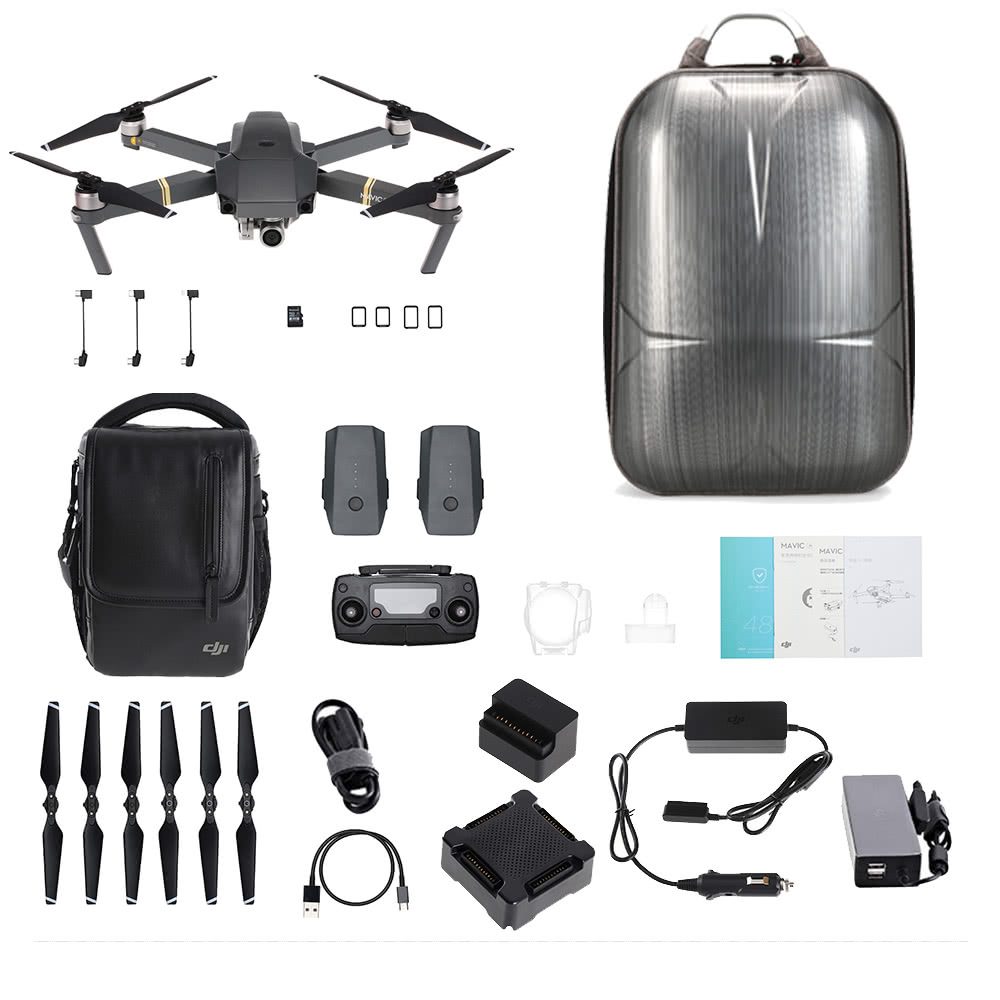 $50 OFF DJI Mavic Pro Fly More Combo with Backpack,free shipping $1269.99