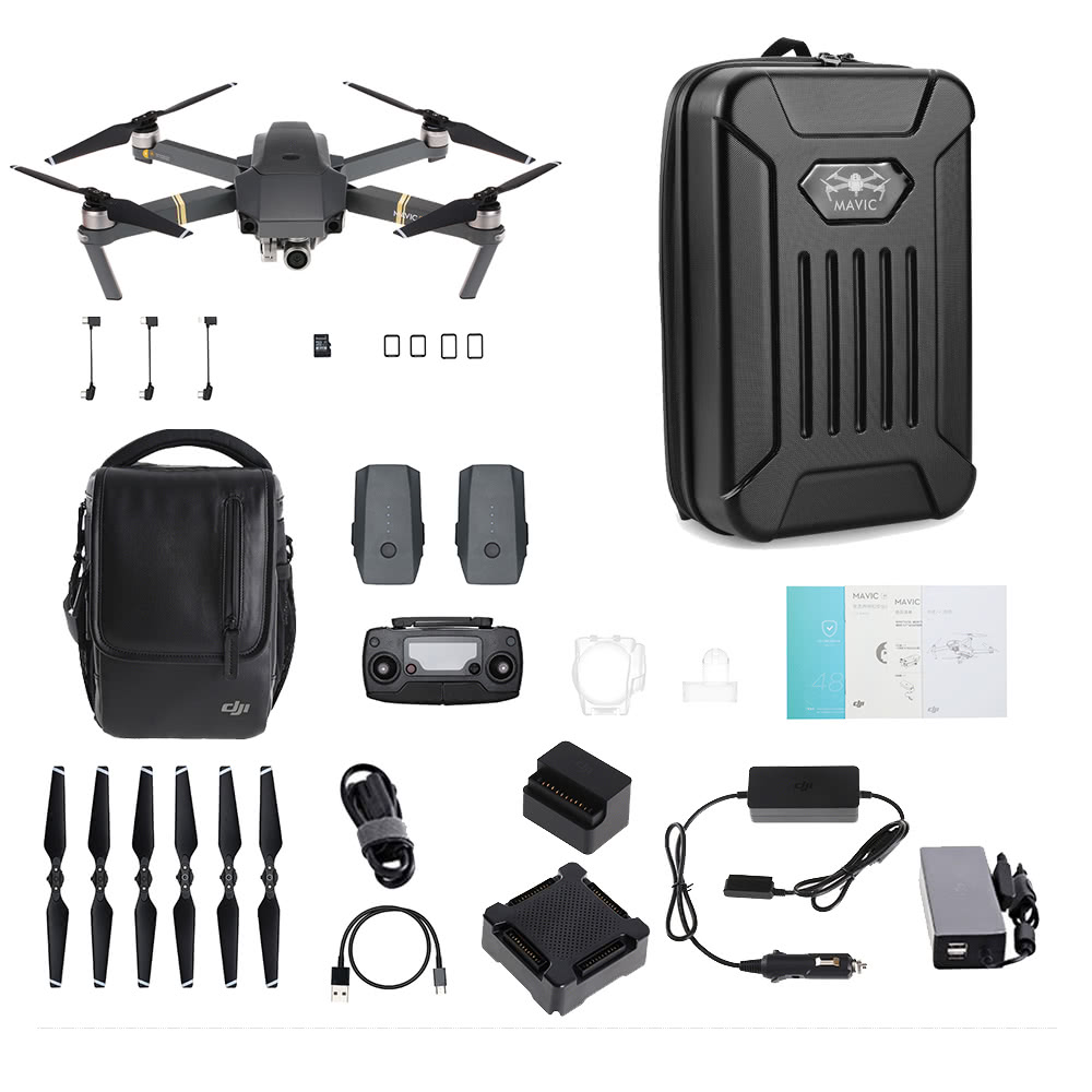 $50 OFF DJI Mavic Pro Fly More Combo with Shoulderbag,free shipping $1269.99