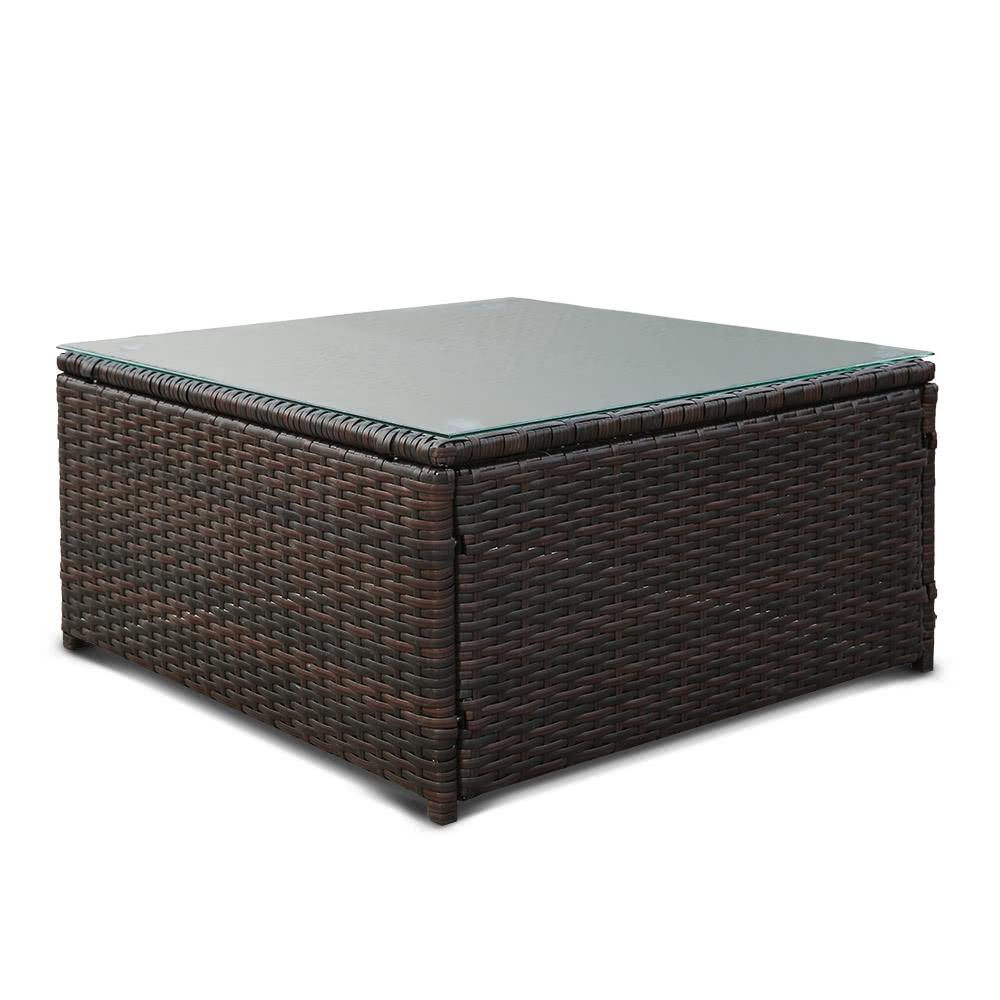Rattan Garden Furniture Grey Cushions ikayaa fashion pe rattan wicker patio garden furniture sofa set