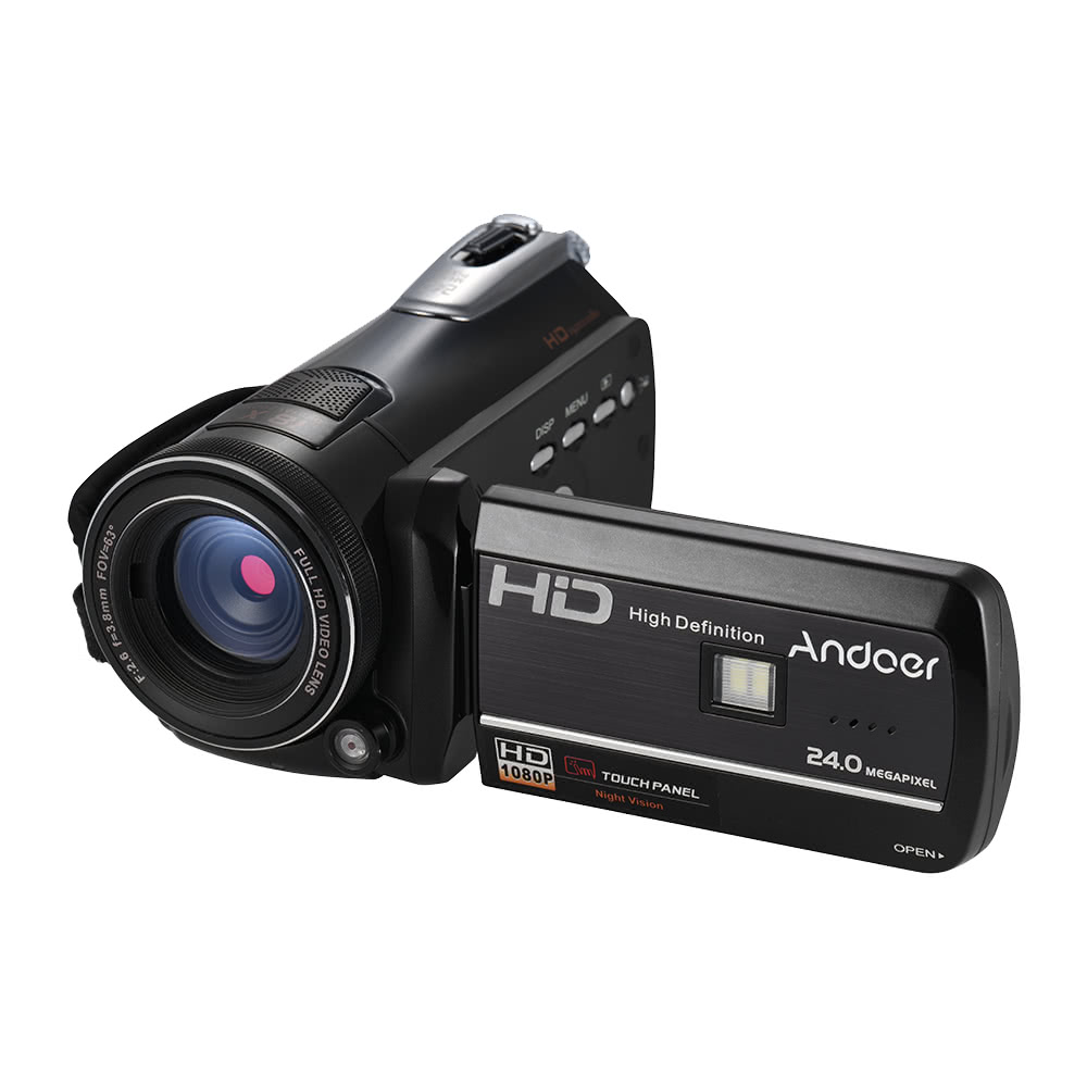 $10 OFF Andoer HDV-D395 Digital Video Camera,free shipping $94.99