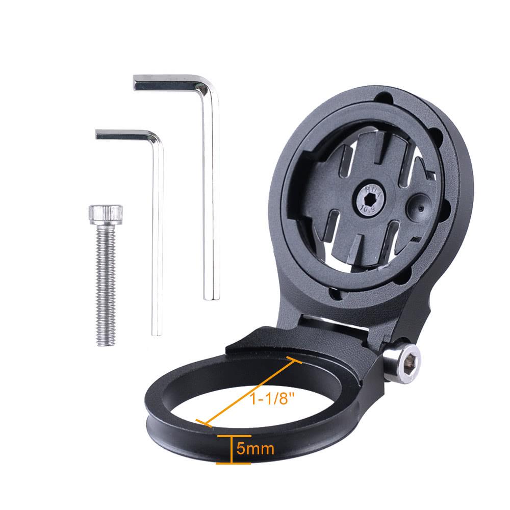 bike stem mount computer holder support for garmin edge. Black Bedroom Furniture Sets. Home Design Ideas