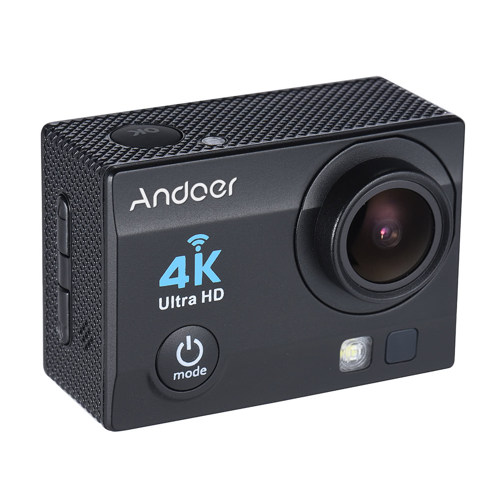 $5 OFF Andoer Q3H-R 4K 30fps 16MP WiFi Action Camera,shipping from DE $43.99