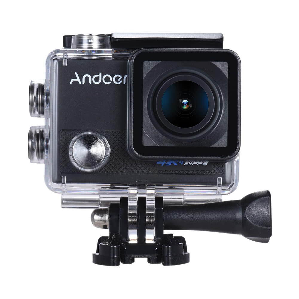 $8 Off Andoer AN5000 4K 24fps WiFi Sports Action Waterproof Camera,free shipping $55.29