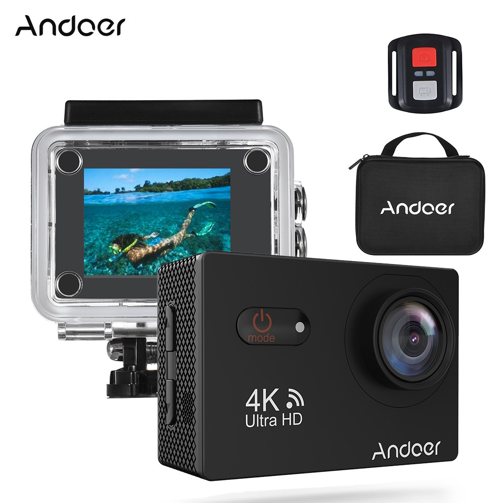 $6 OFF Andoer AN9000R Action Camera,free shipping $48.69