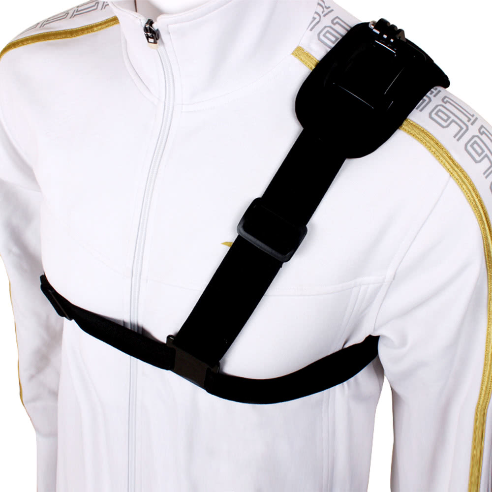 D1203 4 2977 single shoulder strap mount chest harness belt adapter for sales harness belt at eliteediting.co