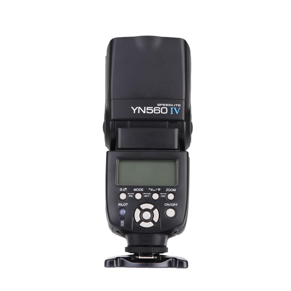 YONGNUO YN560 Ⅳ 2.4GHZ Flash Speedlite Wireless Transceiver Integrated for Canon Nikon Panasonic Pentax  Camera