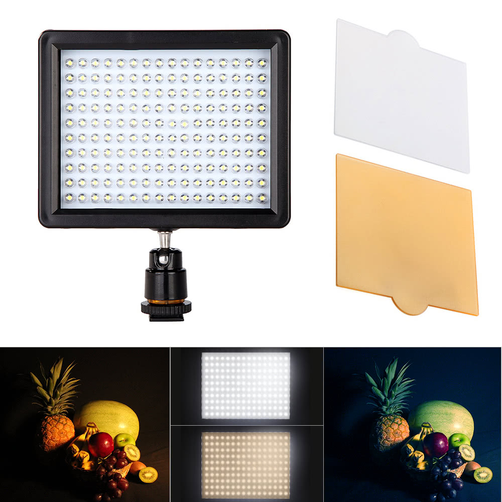 $6 OFF Andoer 160 LED Video Light,free shipping $19.99