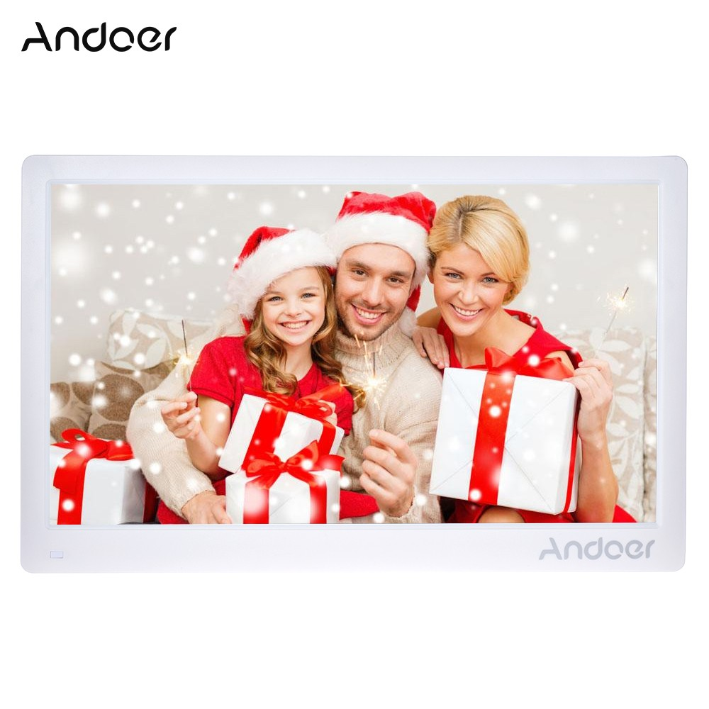 $16 OFF Andoer 17inch Digital Photo Frame,free shipping $122.99