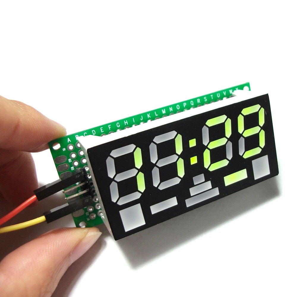 Fritzing Project Arduino LCD alarm clock