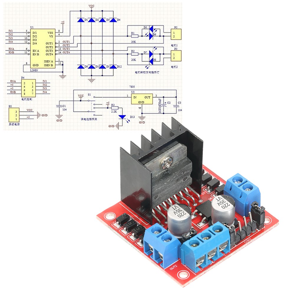 L298 H Bridge Diagram Also With Motor Driver L298n Dual Dc Stepper End 4 26 2019 430 Pm Drive Controller Board Module
